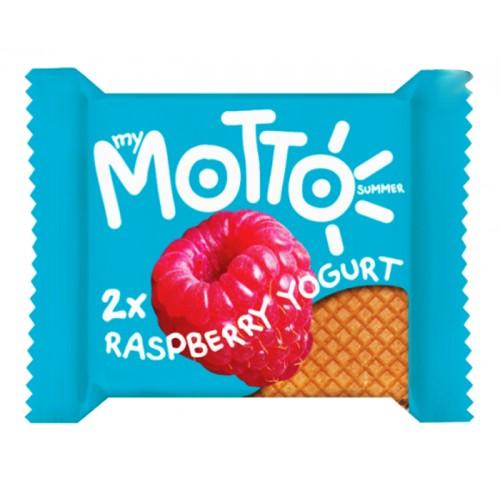 My Motto Summer 2 x Cocoa & Raspberry Yogurt Wafer 34g