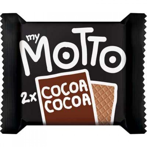 My Motto 2 x Cocoa Wafer 34g