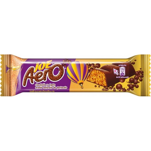 Nestle JOE Aero Milk Chocolate Orange