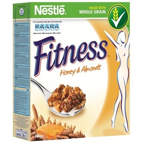 Nestle Fitness Honey & Almonds 300g