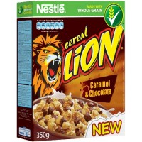 Nestle LION Cereal Caramel & Choco 350g