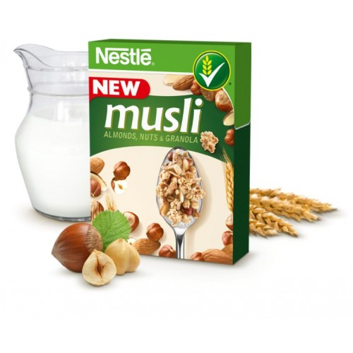 Nestle MUSLI Almonds, Nuts & Granola