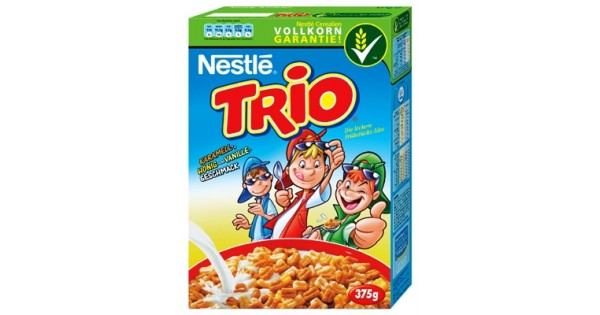 Nestle Trio (caramel & honey & vanilla)