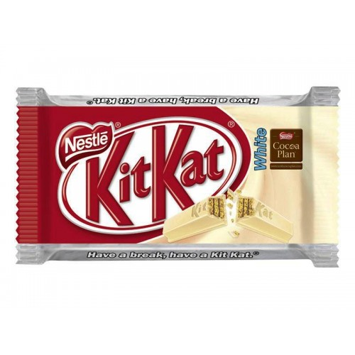 Nestle Kit Kat 4 Finger White