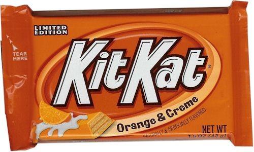 Nestle Kit Kat Orange