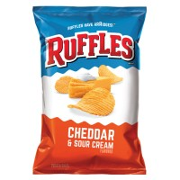 RUFFLES® Cheddar & Sour Cream 6.5oz (184.2g)