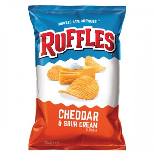 RUFFLES® Cheddar & Sour Cream 6.5oz (184.2g)