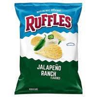 RUFFLES Jalapeño Ranch 6.5oz (184.2g)