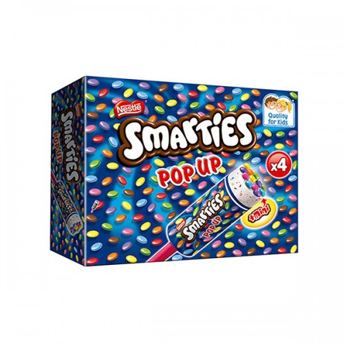 Smarties Pop Up Ice Cream 4x85ml