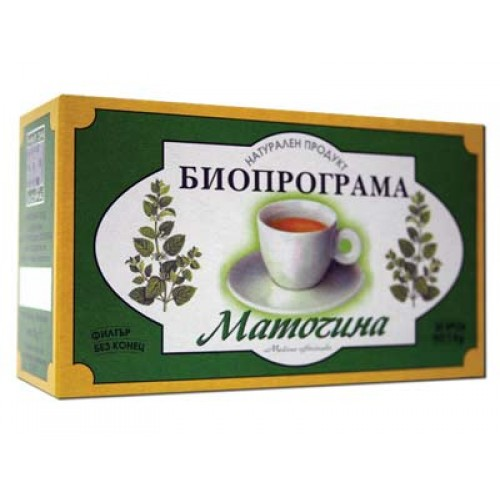 Bioprograma Lemon Balm Tea