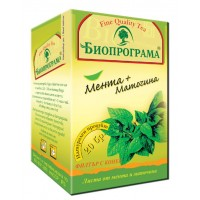 Bioprograma Peppermint & Lemon Balm Tea 30g