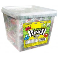 American Licorice Sour Punch Twists 4 Flavor Tub 44.48oz