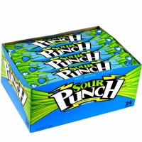 American Licorice Sour Punch Straws Blue Raspberry 2 oz