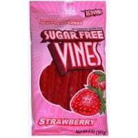 American Licorice Sugar Free Strawberry Twists 5 Oz Bag