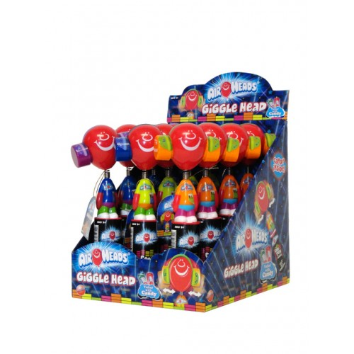 Candyrific Airheads Giggle Head Pops
