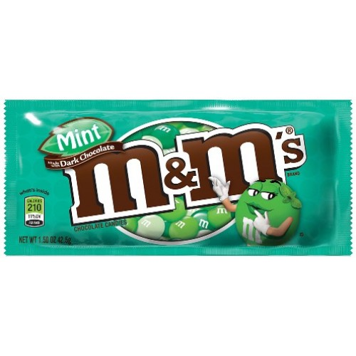 M&M's Dark Chocolate Mint 48g