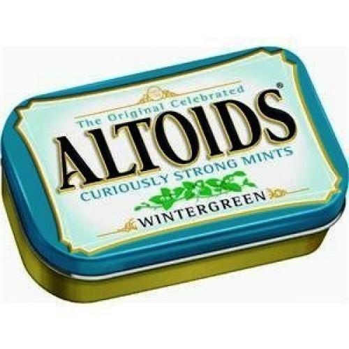 Wrigley Altoids Mints Wintergreen
